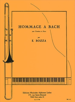 HOMMAGE A BACHバッハへのオマージュ