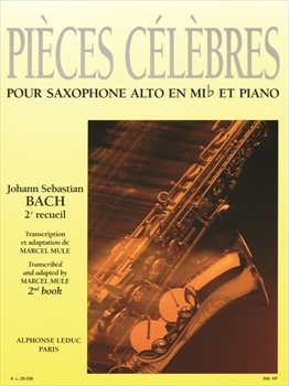 PIECES CELEBRES VOL.2名曲集 第2巻 (アルトサックス)