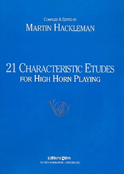 21 CHARACTERISTIC ETUDES(HIGH HORN PLAYING)21の性格的練習曲(高音奏者用)