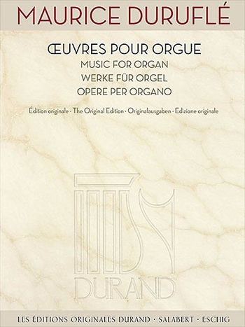 OEUVRES POUR ORGUEオルガン作品集