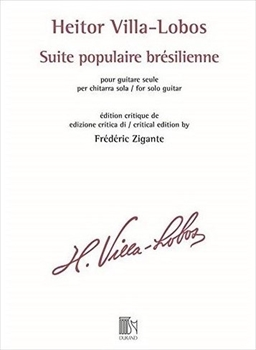 SUITE POPULAIRE BRESILIENNEブラジル民謡組曲