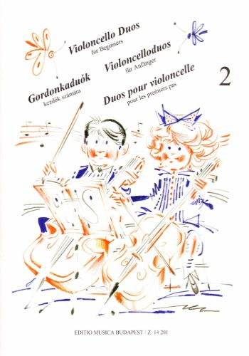 VIOLONCELLO DUOS FOR BEGINNERS 2初心者のためのチェロ二重奏曲集 第2巻