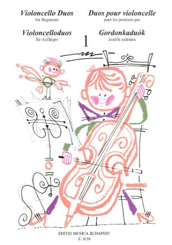 CELLO DUOS FOR BEGINNERS VOL.1初心者のためのチェロ二重奏曲集 第1巻