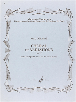 CHORAL ET VARIATIONS OP.37コラールと変奏曲