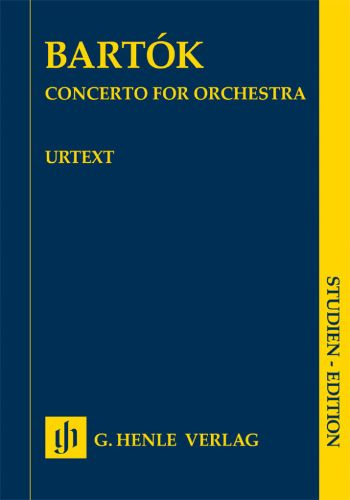 CONCERTO FOR ORCHESTRA管弦楽のための協奏曲(フルスコア)