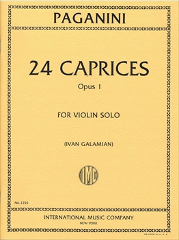 24 CAPRICES OP.1(GALAMIAN)24のカプリース