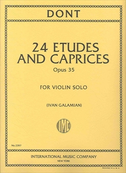 ETUDES AND CAPRICES OP.35(GALAMIAN)エチュードとカプリス 作品35(ガラミアン校訂)