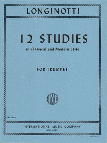 12 STUDIES IN CLASSICAL AND MODERN STYLE古典的および現代的様式による12の練習曲