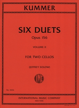 6 DUETS OP.156 VOL.2(4-6) (ED.SOLOW)6つのチェロ二重奏曲  第2巻