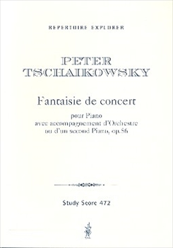 CONCERT FANTASY FOR PIANO AND ORCH. OP.56協奏的幻想曲