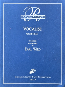 VOCALISE OP.34 NO.14ヴォカリーズ(ワイルド編)