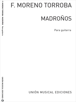 Madronos for Guitarマドローニョス