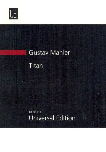 TITAN tone poem in the form of a symphony in two parts and five movements「巨人」(2部5楽章の交響曲の様式による交響詩)(小型スコア)